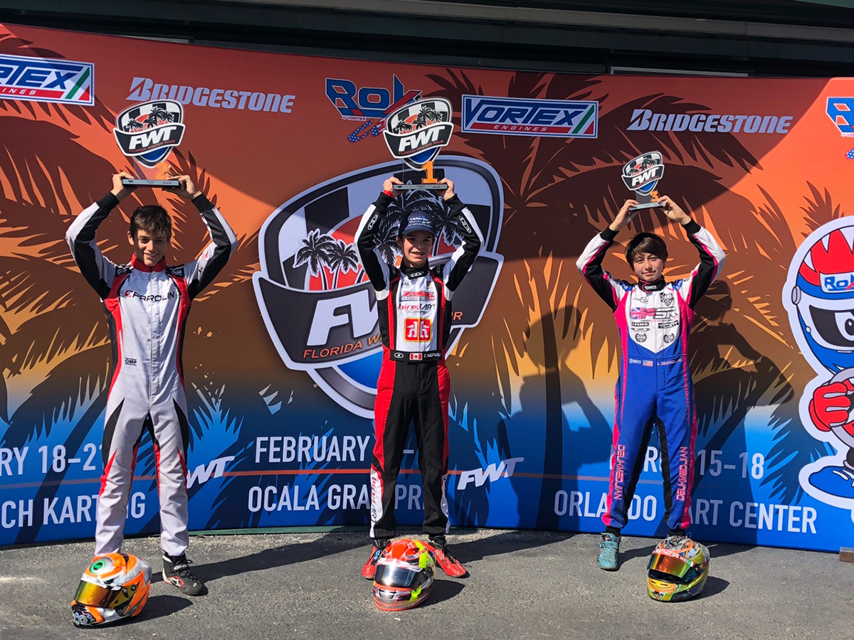ARIAS DEUKMEDJIAN TURNS 15TH PLACE STARTING POSITION INTO A PODIUM RESULT