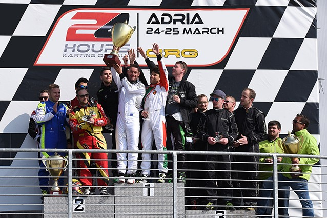 ATB TEAM BENGIO WINS THE 24 HOURS KARTING OF ITALY