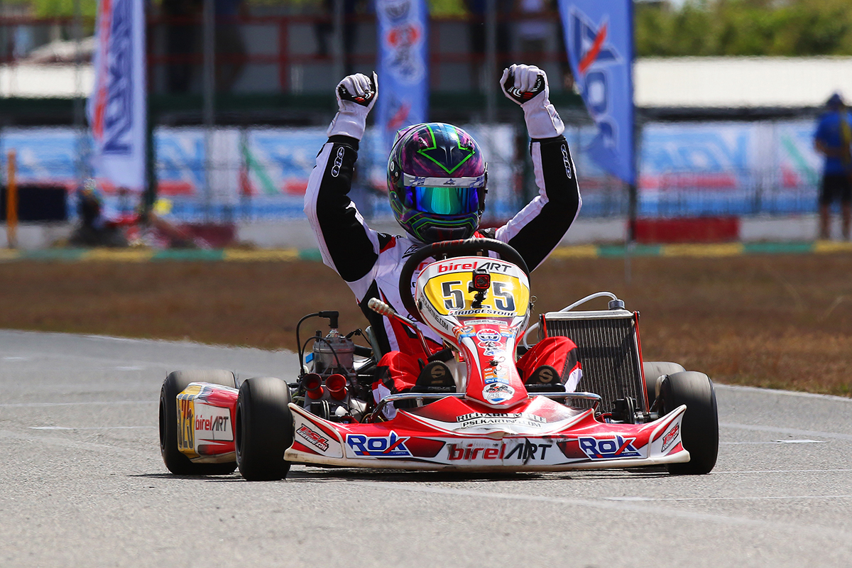 BIREL ART SECURES ROK SENIOR CHAMPIONSHIP
