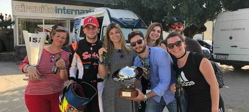 alex irlando wsk 2018 vice champion