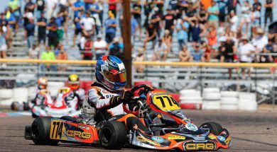 CRG's Tyler Maxson secures a second place podium result at the SKUSA Pro Tour event this past weekend