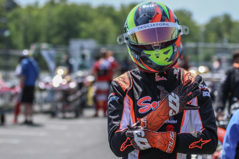 Sixth place in Salbris for Alex Irlando