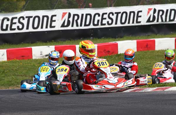 Wet Finals at 3rd South Garda Karting Trophy