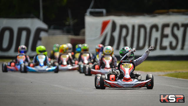 Parolin Racing Kart: great double in 60 Mini in Lonato