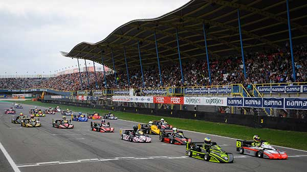 Round 2, European Superkart Championship