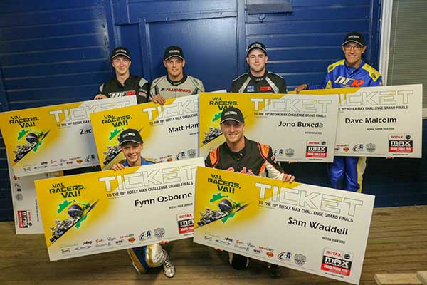 7-Driver Kiwi Squad Named for Rotax Grand Finals