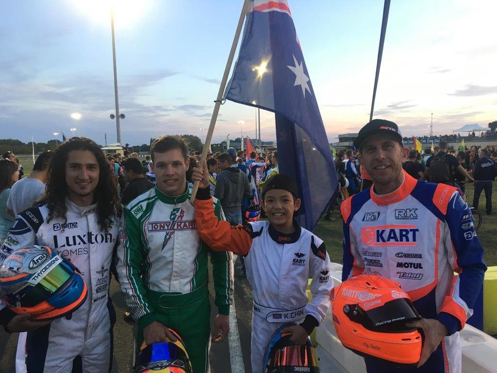 Aussie Update: Saturday @ IAME & Rok Cup