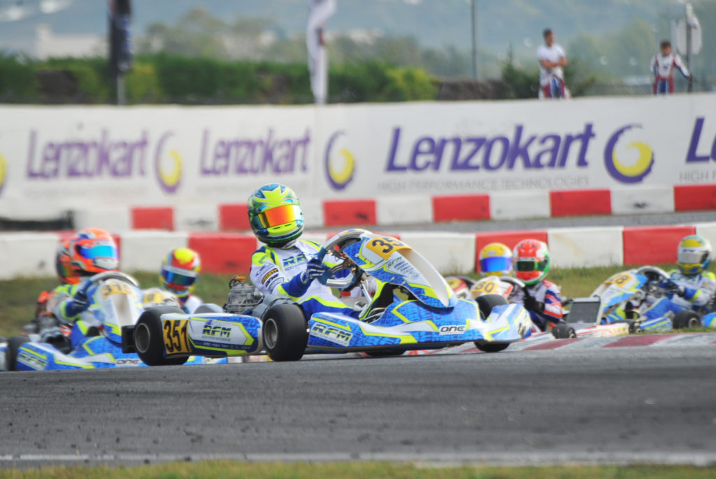 WSK Final Cup 1 – Wharton Tops Rankings