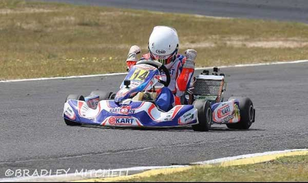 Fairy Tale One-Two for KF Kart at WA Championship