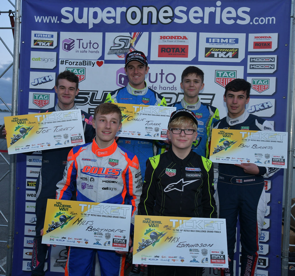 Super One Concludes at PF International