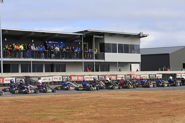 KA Club Racer Showdown for The Bend
