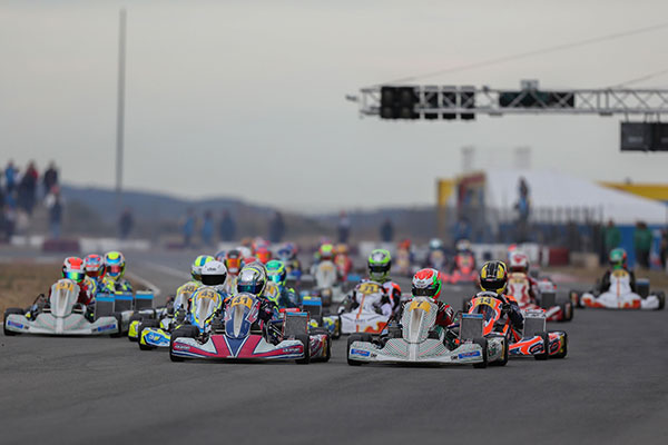 Record Numbers at IAME Winter Cup