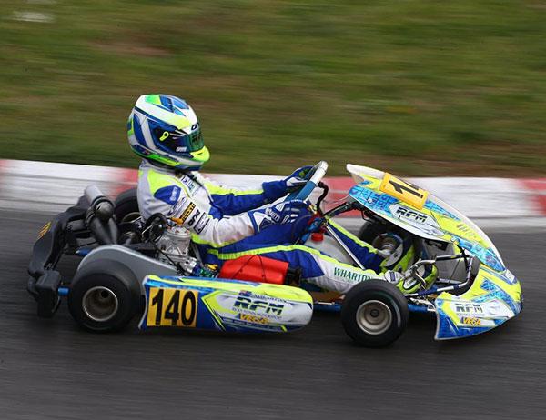 3 Aussies at Kart GP France