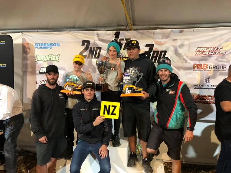 Pro Karting Australia Wins in NZ