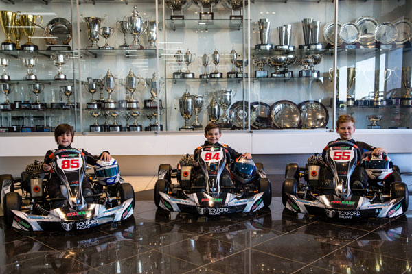 Team PR: Tickford Trio at Power Series