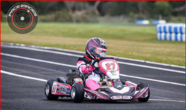 Kart Racing Girls 2019: Hayley Fewins
