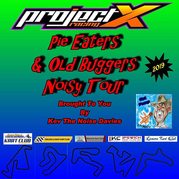 Pie Eaters & Old Buggers: Noisy Tour Round 2
