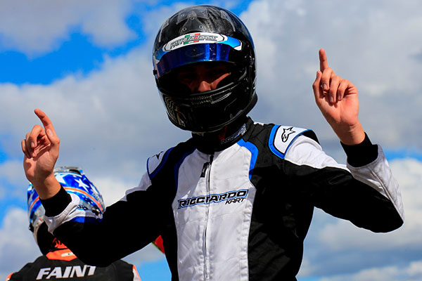Payne Wins on Aussie KZ2 Debut