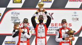Five podiums at Lonato and a hat-trick in the Championship
