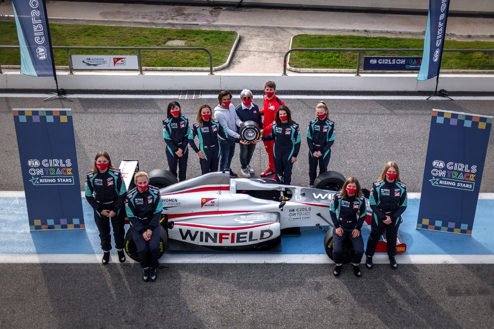 Final stage of the FIA Girls on Track – Rising Stars programme underway in Maranello 10-13 November 2020