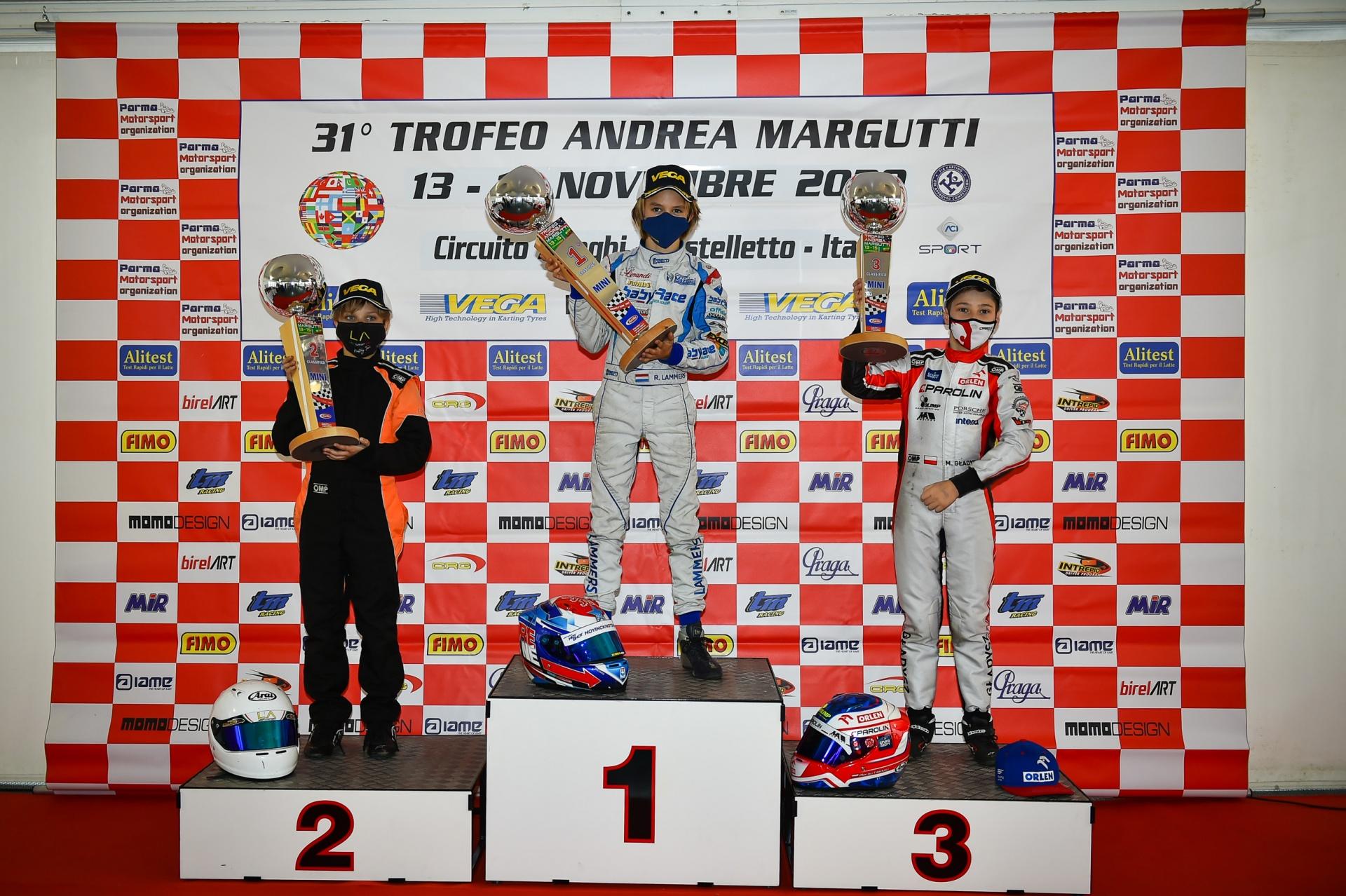 Maciej Gladysz in third place at Margutti Trophy 2020