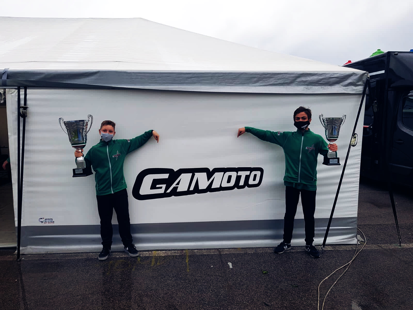A double win for Gamoto Kart at Trofeo Nazionale