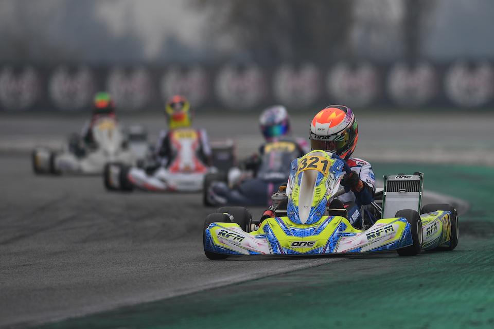 Maxim Rehm's 2020 ends in Adria