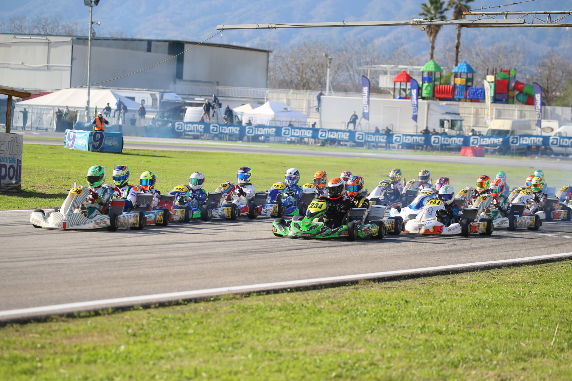 Gamoto Kart ends the season with a podium at the Trofeo Senna