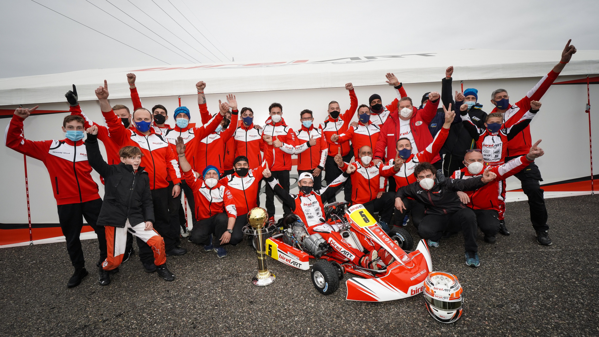 Another KZ2 victory and an excellent level of performance in Lonato
