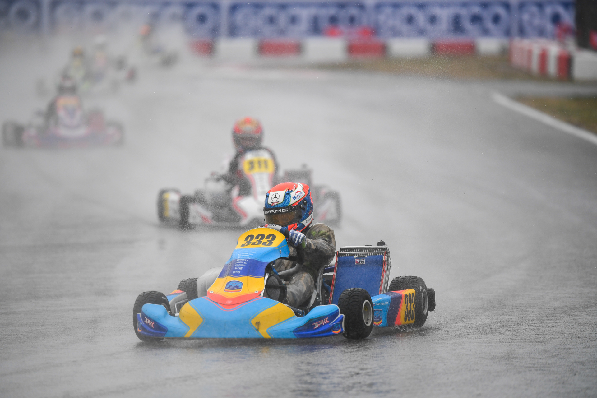 Mark Kastelic affected by weather on Sunday in Lonato
