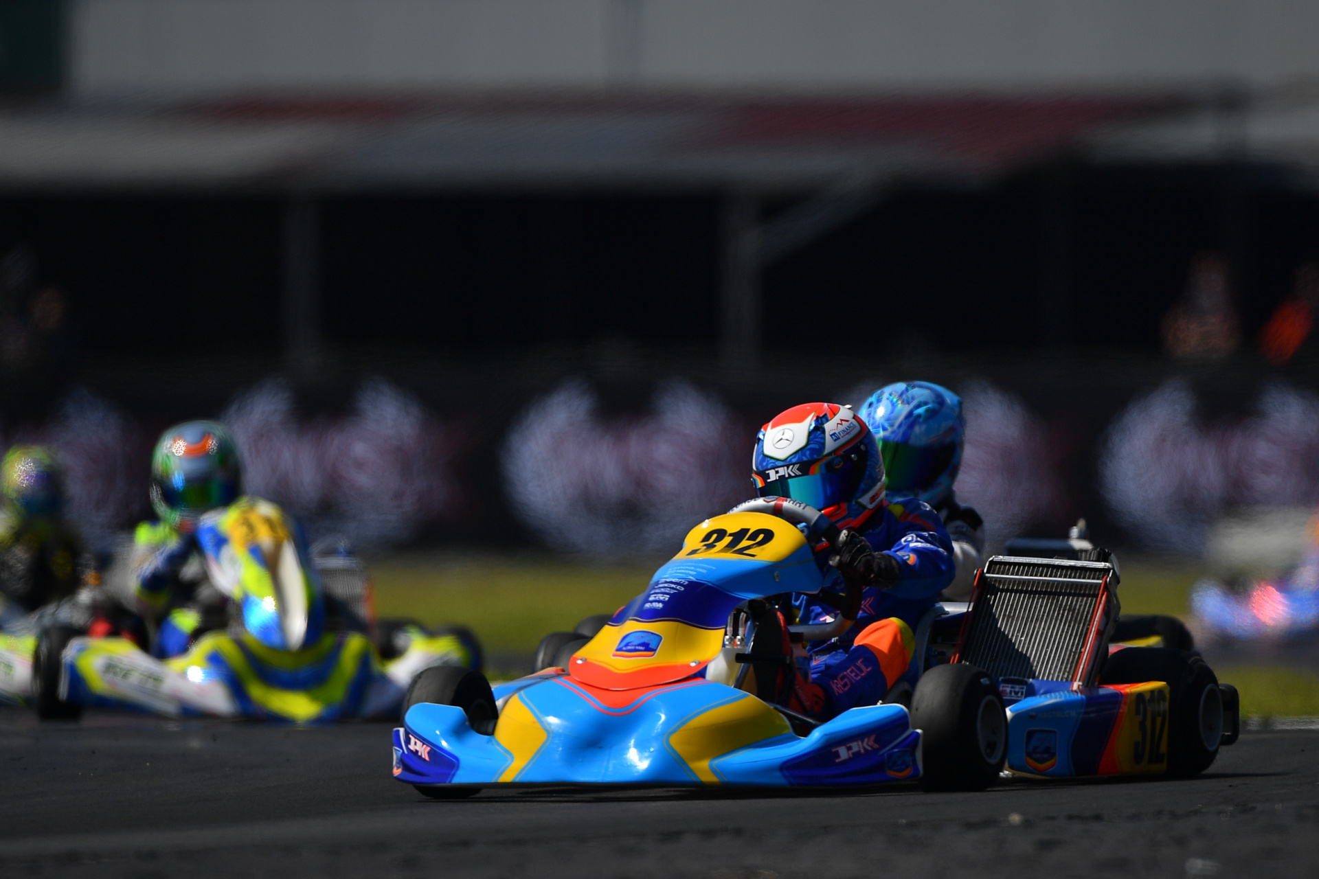 The first round of the WSK Euro Series awaits Mark Kastelic