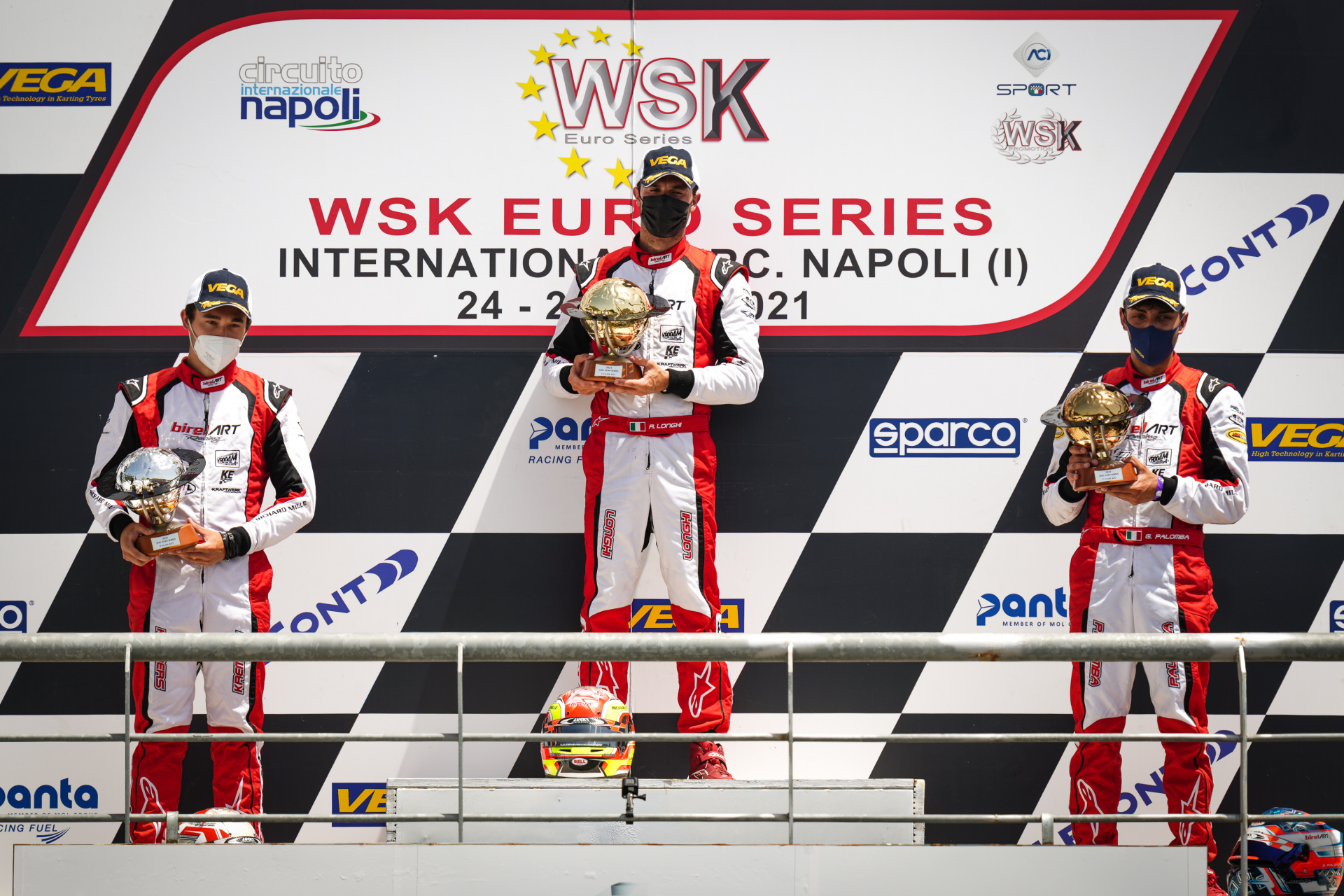Another triple win in the 2021 WSK Euro Series