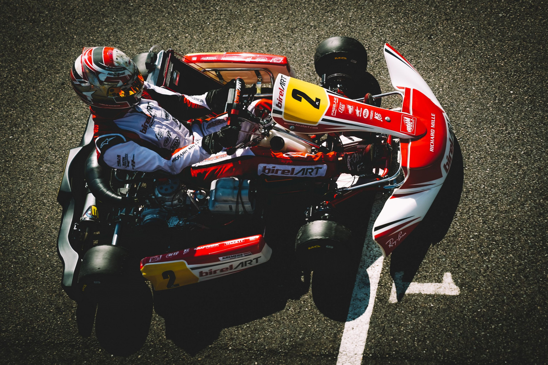 Difficult weekend in Sweden, but good performances from the Birel ART chassis