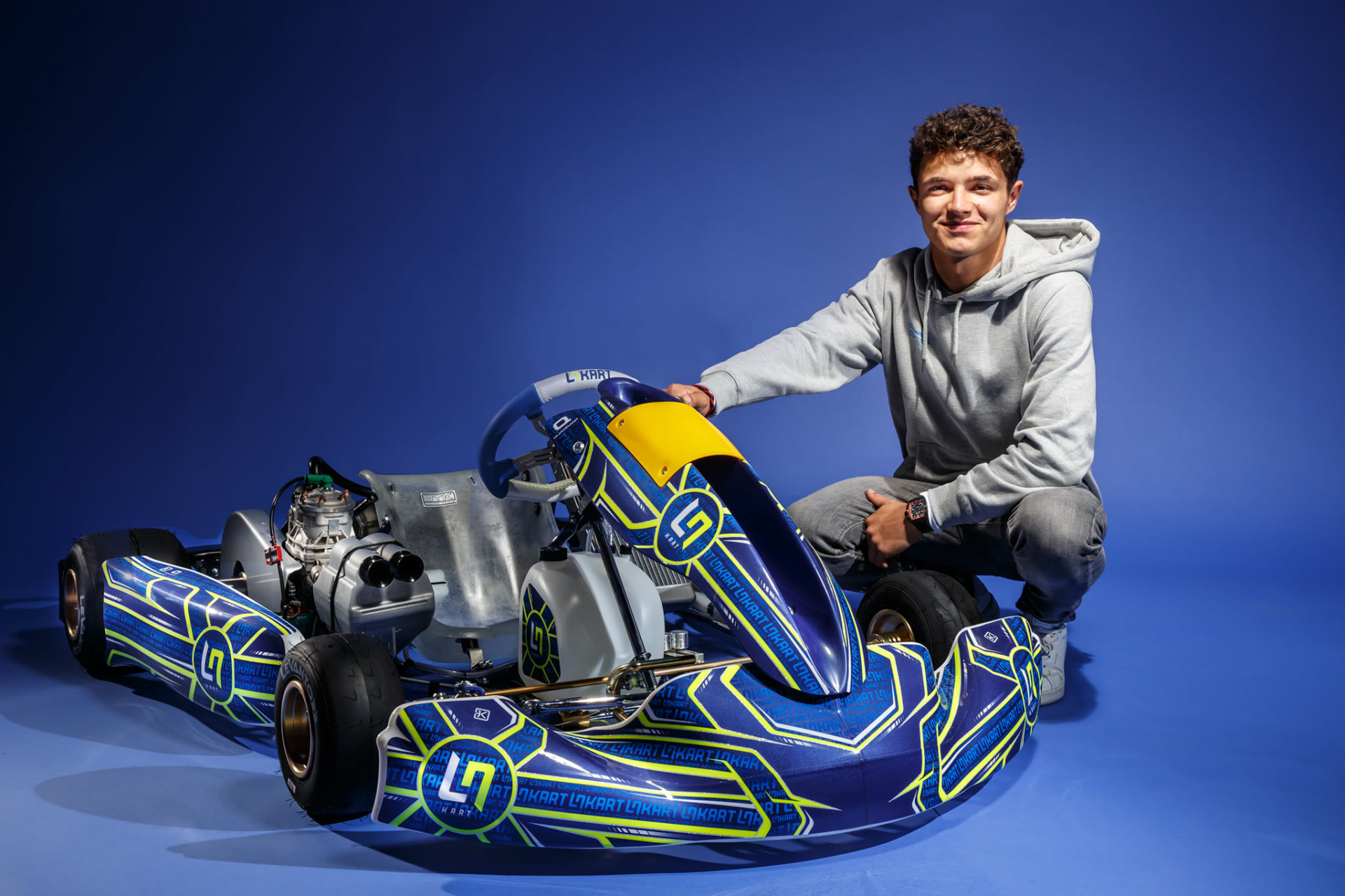 LN Four Is Born, Lando Norris' Kart Made In OTK Kart Group